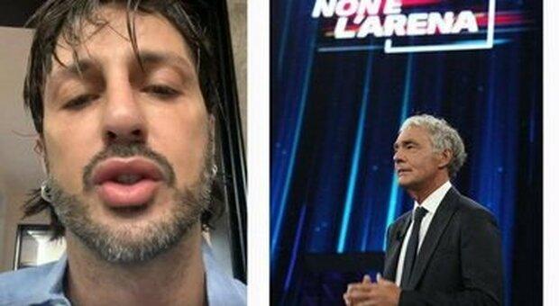 Fabrizio Corona si ferisce ancora in carcere. La lettera a Massimo Giletti: «Mi sono morso come un cannibale»