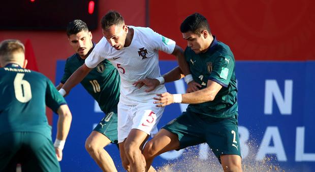 L'Italbeach vince ancora: 12 reti alla Danimarca. Gori tocca quota 300 gol in azzurro