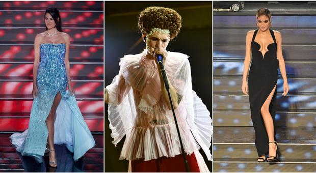 Sanremo 2020, diretta. Le pagelle dei look dell'ultima serata: Achille Lauro 10 in versione Elisabetta I. La più sexy è Elodie