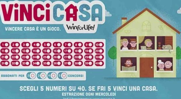 Anzio, la 30esima casa vinta nel Lazio nel concorso VinciCasa: la regione si conferma leader