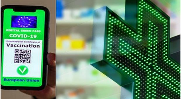 Green pass stampati in farmacia a 5 euro, blitz dei carabinieri a Valle Aniene