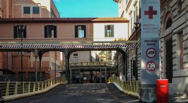 L'ingresso del policlinico Umberto I