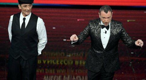 Sanremo 2021, share seconda serata al 41.2%: netto il calo rispetto al 52.5% del 2020