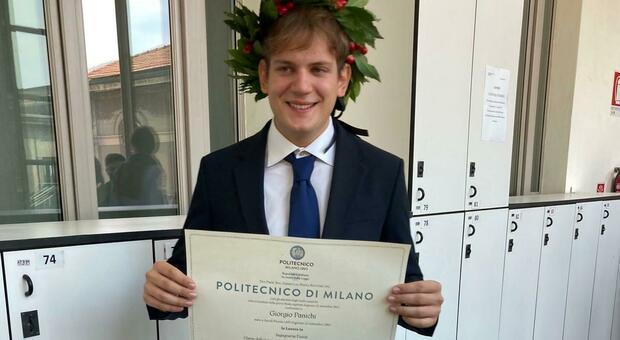 Milano, Giorgio è il laureato più giovane d'Italia: l'età in cui ha raggiunto il traguardo è da record