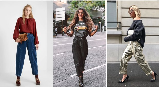 Slouchy jeans, i pantaloni più amati dell'autunno sono (anche) comodissimi
