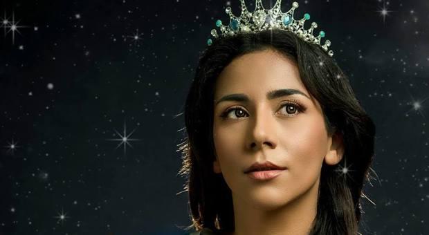 La miss iraniana Bahareh Zare Bahari