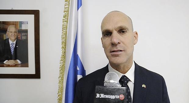 L'ambasciatore Ofer Sachs