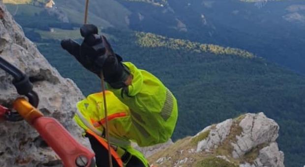 Rimangono bloccati in parete a 2700 metri: salvati dai soccorritori