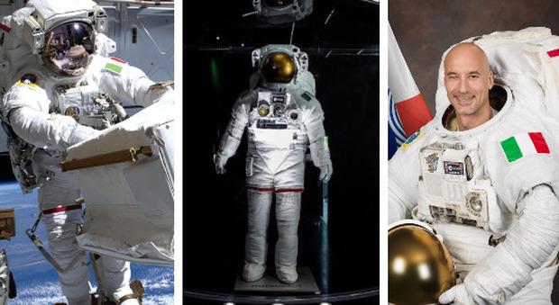 Luca Parmitano, la tuta delle sue passeggiate spaziali in mostra a Valmontone. Quando rischiò di annegare in orbita