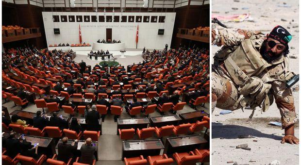Libia, via libera del parlamento della Turchia all'invio delle truppe