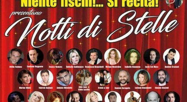 """""""Niente Fischi ! …Si recita !"""", la compagnia teatrale sabina in trasferta per """"Notti di Stelle"""""""