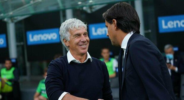 Inter, Inzaghi: «Rimane l'amaro in bocca. Mia la decisione di far tirare il rigore a Dimarco». Atalanta, Gasperini: «Usciamo da questa partita più consapevoli e forti»