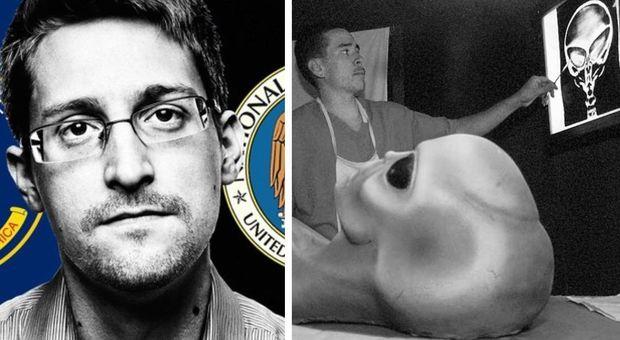Gli alieni esistono? Ecco la verità: Edward Snowden svela tutti i segreti della Cia