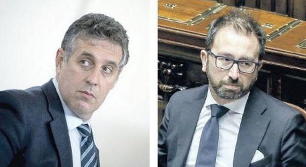 Di Matteo-Bonafede: è scontro. Il centrodestra: via il ministro