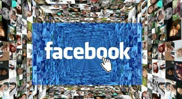 Un'immagine che descrive Facebook, la rete creata nel 2004 da Mark Zuckerberg negli Stati Uniti