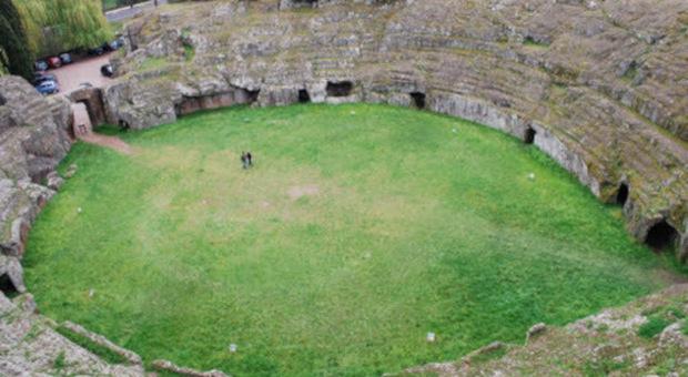 Sutri: anfiteatro etrusco-romano