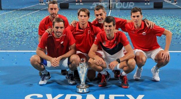 Atp Cup, la Serbia supera la Spagna e vince il trofeo nel segno di Djokovic
