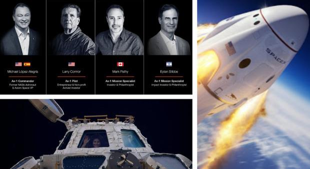Turismo spaziale, ecco i primi milionari in orbita sulla stazione internazionale grazie a SpaceX di Elon Musk