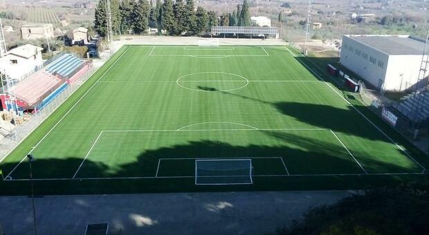 Soriano, il campo sportivo Perugini sempre all'avanguardia