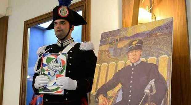 """Carabinieri, presentato il calendario storico 2016: l'Arma """"entra"""" nei quadri più celebri"""