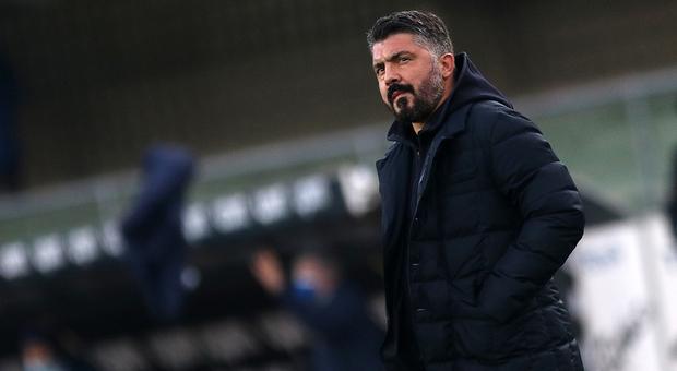 Napoli, De Laurentiis conferma Gattuso: «Piena fiducia in lui»