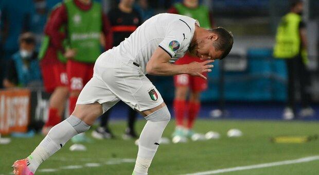 Italia, 9-1 nel test contro la Cremonese: tripletta di Belotti e Chiesa. Festa per l'ex Vialli