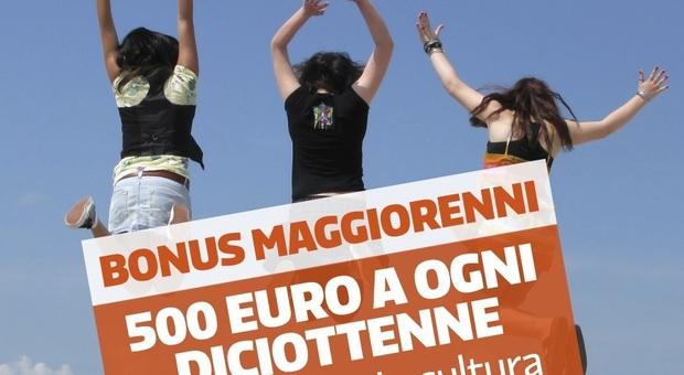 Risultato immagini per 500 euro 18 anni 2001