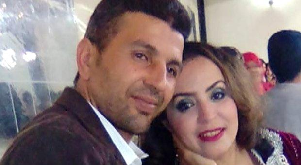 Samira e il marito Mohamed Barbri