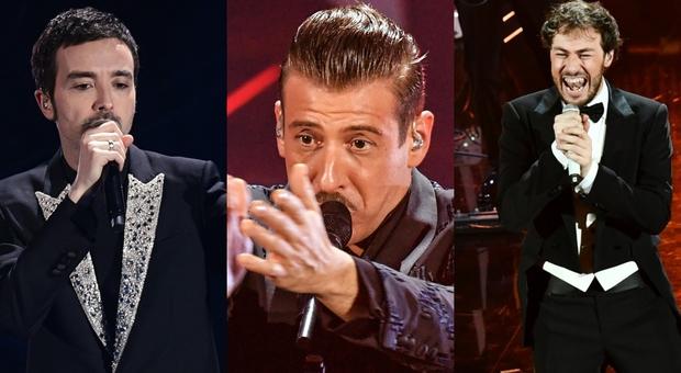 Sanremo, chi sono i tre finalisti: Diodato, Francesco Gabbani e Pinguini Tattici Nucleari