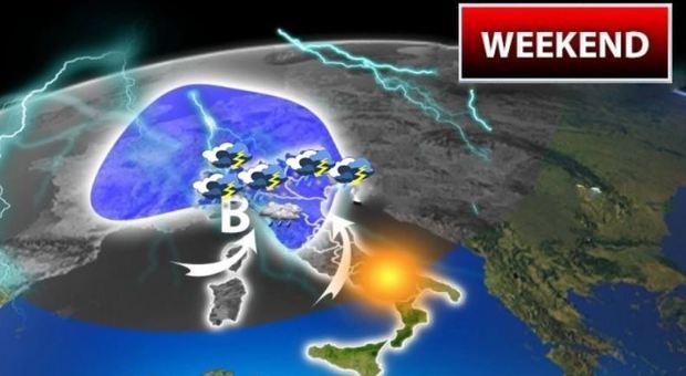 Meteo, previsioni: maltempo ovunque, allerta arancione anche nel Lazio