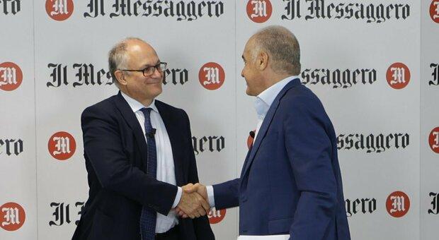 Ballottaggio Roma, Michetti si scusa per l'articolo sulla Shoah. A Gualtieri l'appoggio della Lombardi