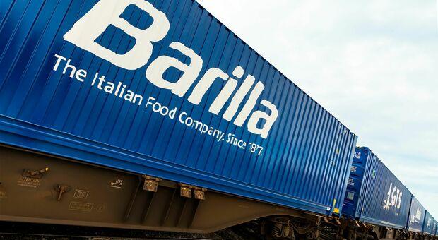 Barilla punta sul trasporto ferroviario: l'operazione toglierà dalla strada 6mila camion all'anno tagliando del 60% le emissioni