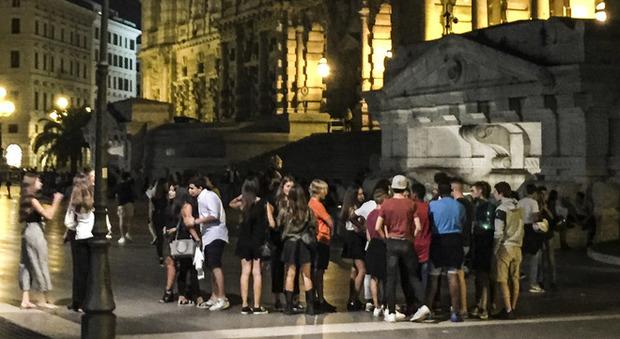 Roma Nord contro Roma Sud, a piazza Cavour la movida come campo di battaglia