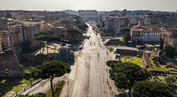 Coronavirus, a Roma 47 nuovi casi (123 nel Lazio). D'Amato: «Trend contagi in frenata in frenata al 2,5%»