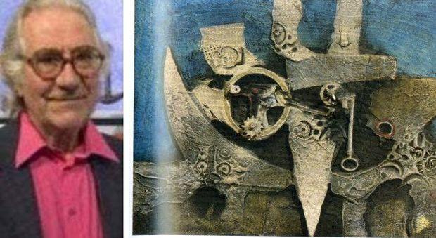 """Lucio Del Pezzo, morto l'uomo che inventò le """"pitture-oggetto"""""""