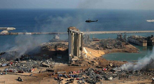 Beirut, viaggio in quel che resta del porto dopo l'esplosione, Ground del Medio Oriente