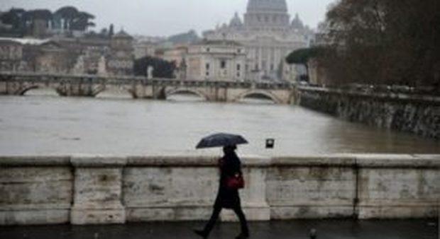 Lazio, allerta maltempo: da oggi 48 ore di pioggia e vento