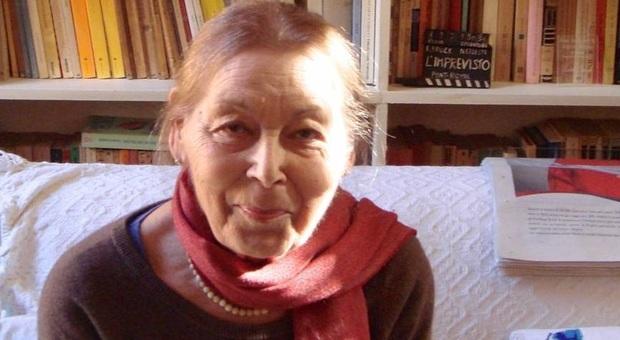 La scrittrice Edith Bruck