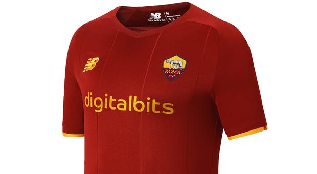 Roma, ecco la nuova maglia New Balance per la stagione 2021-22 ...