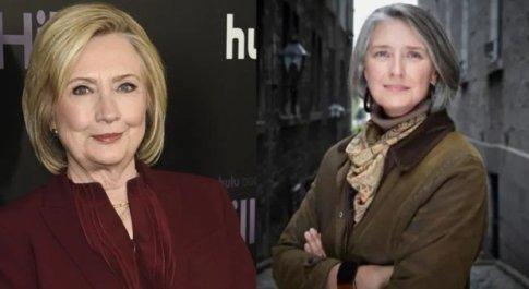 Hillary Clinton firma un thriller politico con Louise Penny, popolare autrice di gialli
