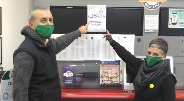 Gianni e Arianna Mazzocco i titolari dell attività dove è stata fatta la vincita