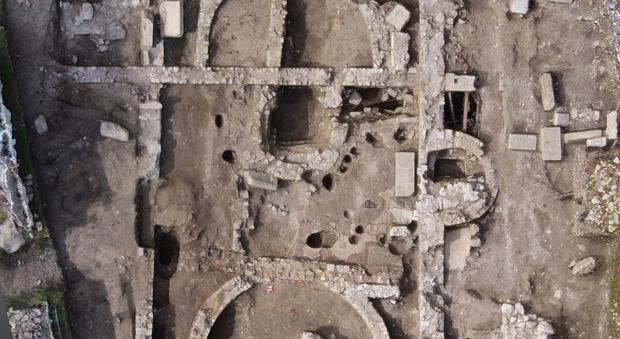 L'immagine zenitale dello scavo