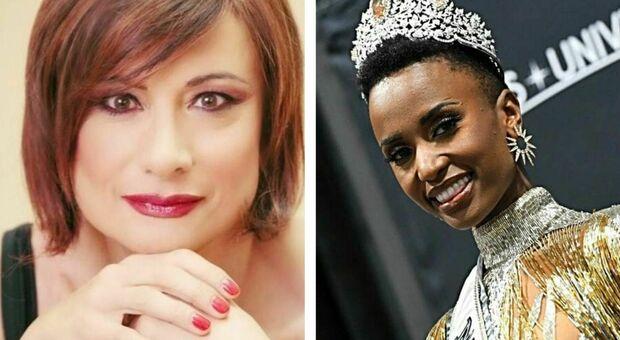 """Miss Universo Italia,Vladimir Luxuria presenta la finale del concorso «reality» e assegna la nuova fascia """"Beauty Against Discrimination"""""""