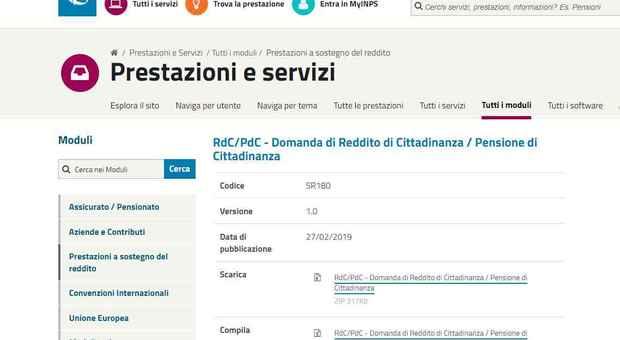 Accordo raggiunto sulla raccolta domande reddito di cittadinanza — Caf ed Inps