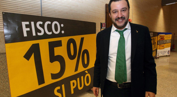 Flat tax, ecco come funziona la proposta della Lega: 15% per le famiglie fino a 50 mila euro