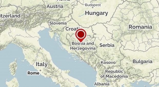 Terremoto, nuova scossa di 3.3 in Bosnia: torna la paura