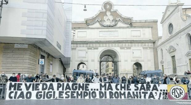Proietti, funerali e commozione: il saluto di Roma e la gratitudine di un Paese