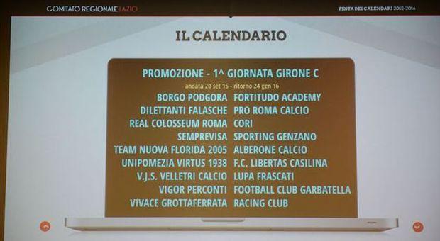 Calendario Eccellenza Girone B.Eccellenza Girone B Le 17 Giornate E Subito Grande Sfida