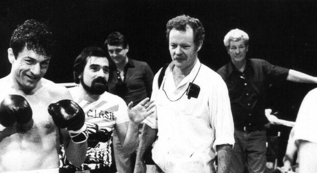 Michael Chapman con Robert De Niro e Martin Scorsese sul set di