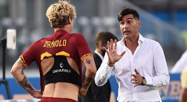 Fonseca e Zaniolo (foto Mancini)